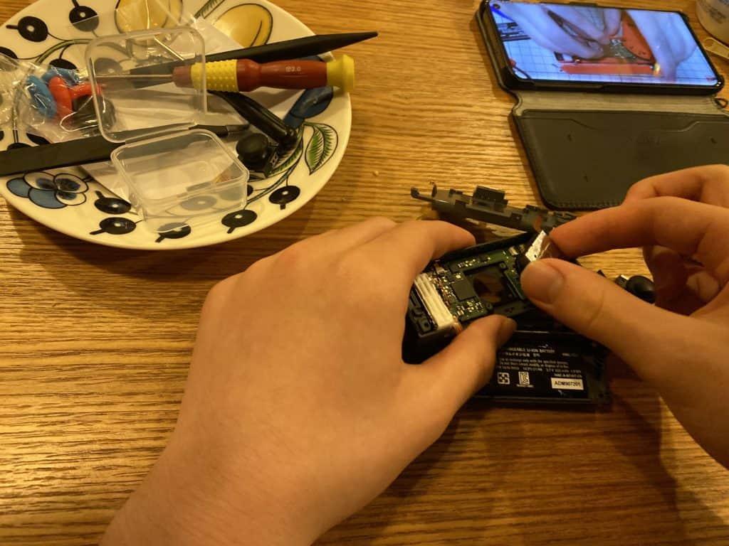 任天堂スイッチのジョイコン修理